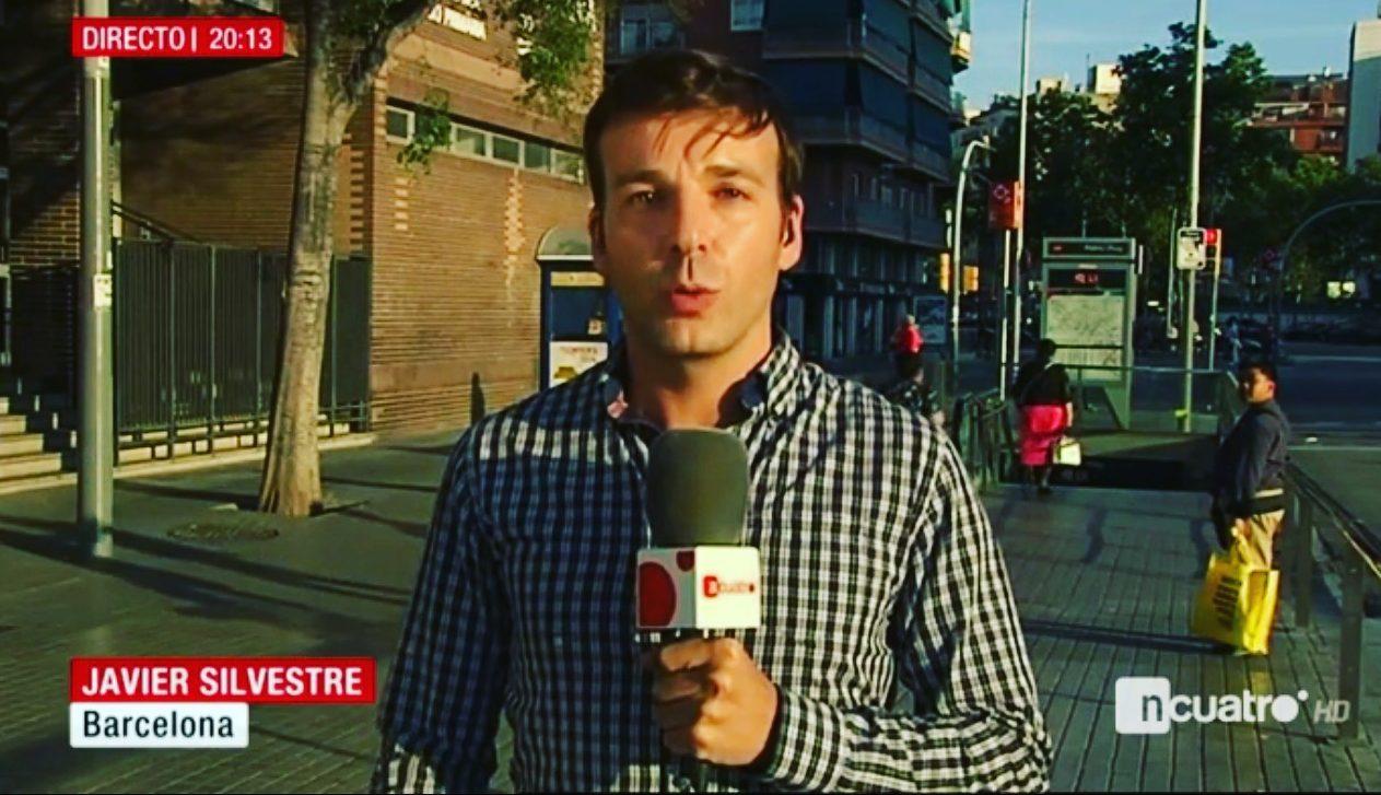 Javier Silvestre, Informativos Telecinco