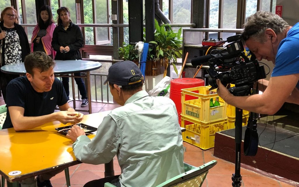 Javier Silvestre en Viajeros Cuatro Taiwán