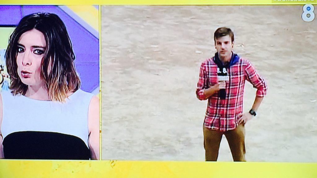 Javier Silvestre y Sandra Barneda