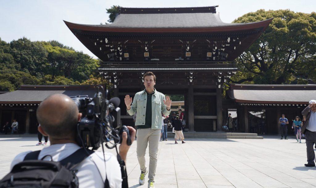 Javier Silvestre en Japón